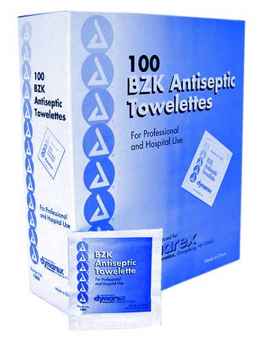 anticeptic wipes large