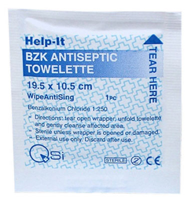 anticeptic wipes