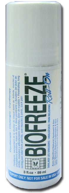 bio-freeze spray