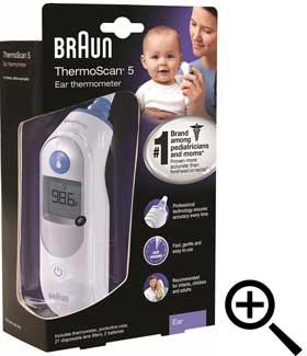 Braun (Ear)Thermoscan IRT 6030