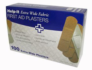 extra wide fabric plasters