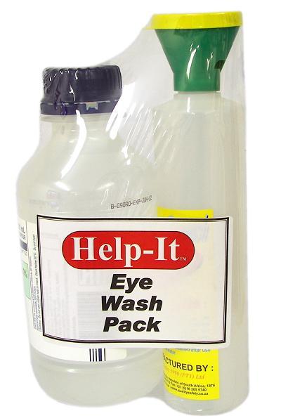 eye wash bottle plus