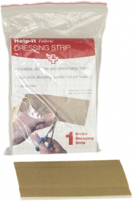 fabric dressing strip in bag