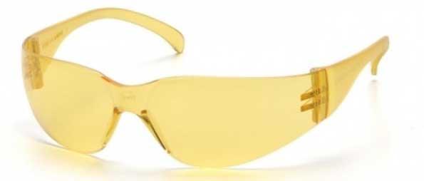 Matrix Frameless Amber Safety Glasses