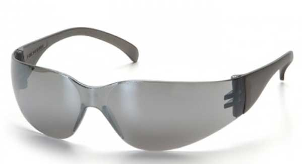 Matrix Frameless Blue Mirror Safety Glasses
