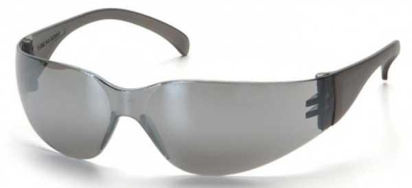 Matrix Grey-tinted frameless Safety Glasses