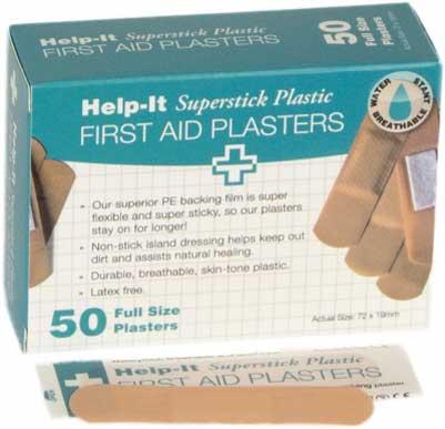 plastic plasters 50