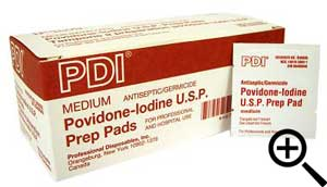 Povidone Iodine Wipes