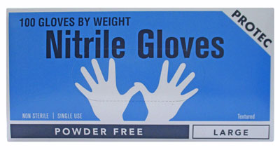 Vinyl Max powder free nitrile gloves