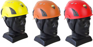 Q Tech industrial safety helmets vented