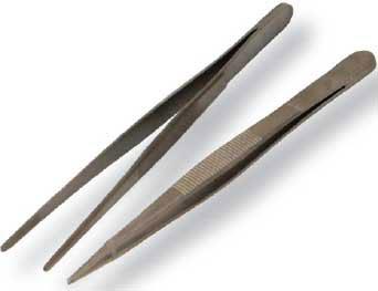 Metal Tweezers Sharp pointed Large 13cm